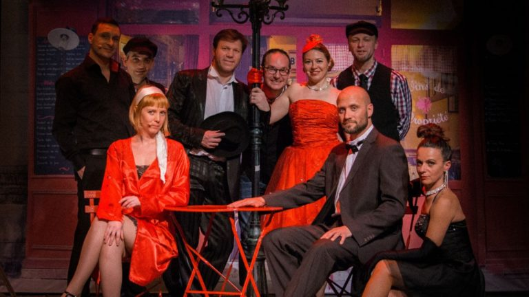 French Cabaret Musicals Ca C'est Paris Show Artists Ensemble