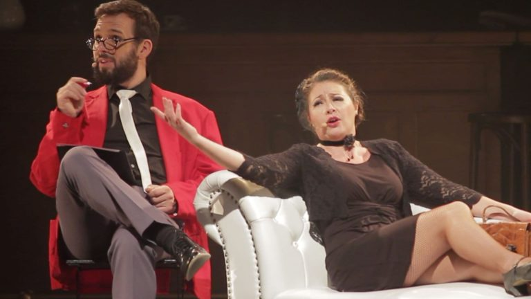 Piaf 100 Years of Love Musical Show Josephine Sings With Psychiatrist